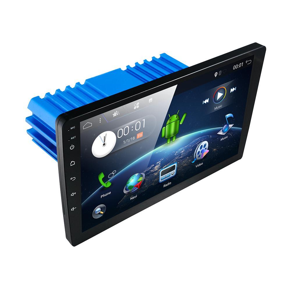 PX6 4G + 64G 10,1 дюйма 1 DIN Универсальный Android 10,0 автомобильный аудио GPS Радио Видео плеер стерео Авто BT головное устройство с wifi usb sd SWC