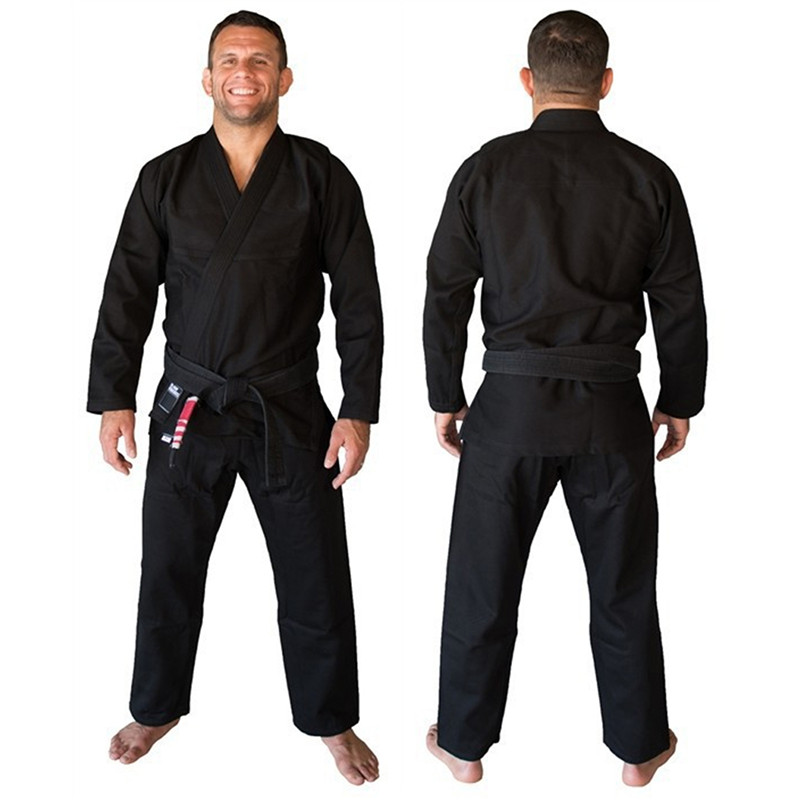 Bjj Kimono Gi Martial Arts Clothing Brazilian Jiu-jitsu Gi Kimonos MMA Fightwear A0-A3 Blue Black White 3 colors image