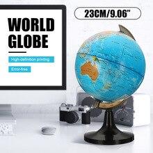 14 см земной мир, глобус, карта земли, география, обучающая игрушечная карта с вращающейся подставкой, украшение для дома, офисное украшение
