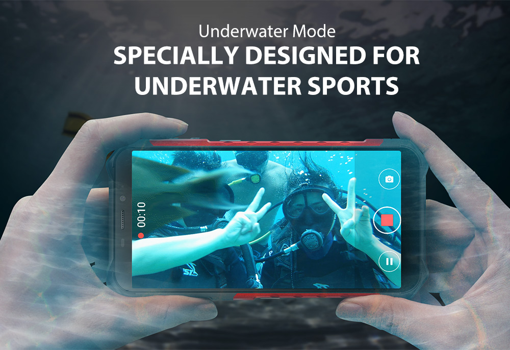 """H9056cb69d8264c87bddb6fa39e48eaa9E Ulefone Armor X3 Rugged Smartphone Android 9.0 IP68 Android 5.5"""" 2GB 32GB 5000mAh 3G Rugged Cell Phone Mobile Phone Android"""