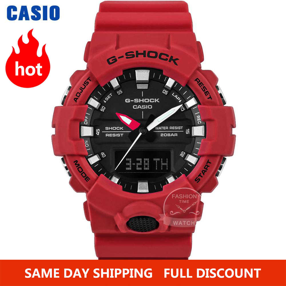 Casio orologio uomo G-SHOCK Top Brand lusso Set 200M impermeabile Sport Quartz orologio doppio LED light Relogio Digital G Shock Watch uomini militari sottile caso design compatto orologio orologi da polso di Diving