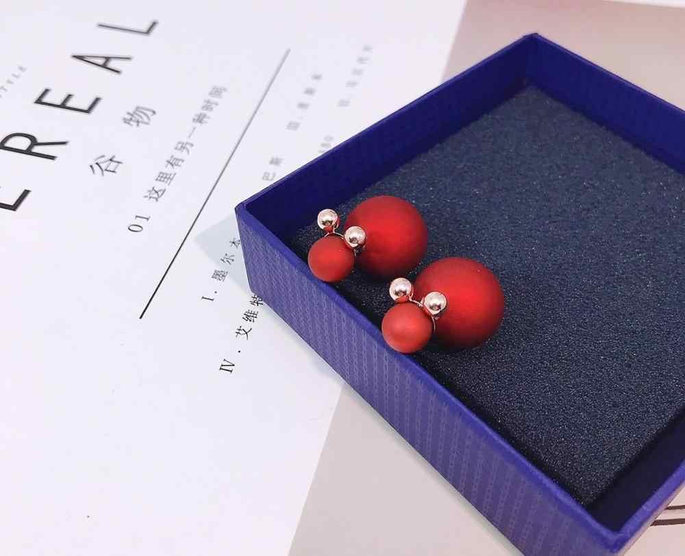 S925 1 par moda bonito colar brincos para as mulheres declaração jóias de casamento nova moda brincos de cristal presentes