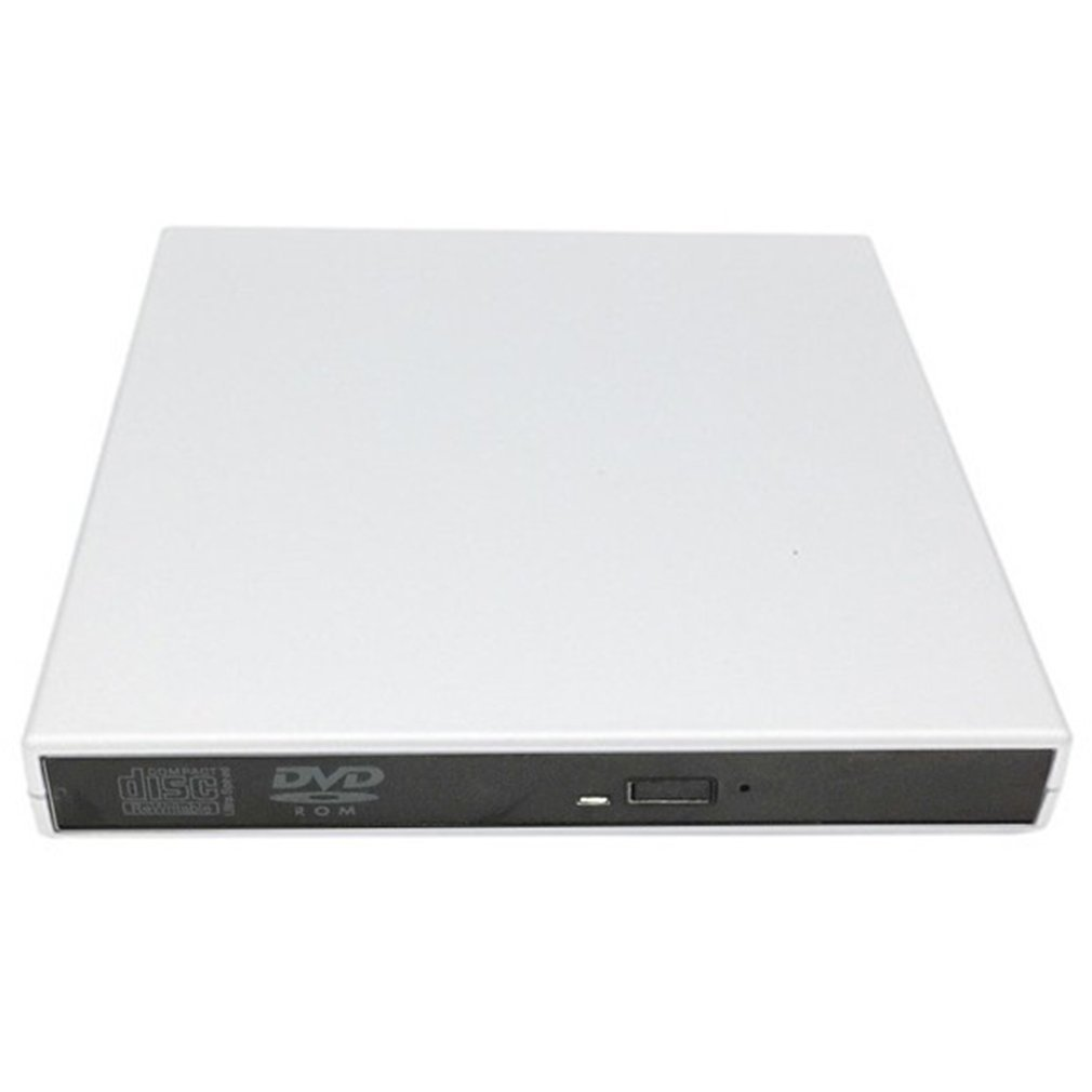 USB 2.0 External DVD Combo CD-RW Burner Drive CD DVD ROM For PC Computer Laptop Mobile External Drive Drop Shipping