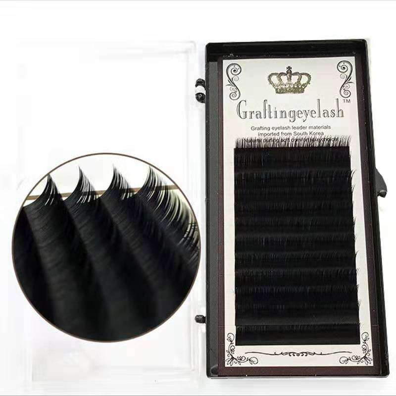 Classic Eyelashes Extensions Mix Individual Lashes Mega Volume Silk Easy D/D+/CC 0.05/0.07/0.10/0.15 HandMade