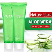 Żel aloesowy Pure Natural 100% krem do twarzy nawilżający kojący żel leczenie trądziku blizna usuń oparzenia słoneczne naprawa Aloe Cream