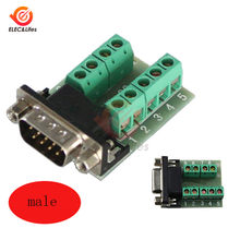 DB9 Male Female D-USB Port Adapter Signals Terminal Module RS232 Serial To Terminal DB9 Connector(China)