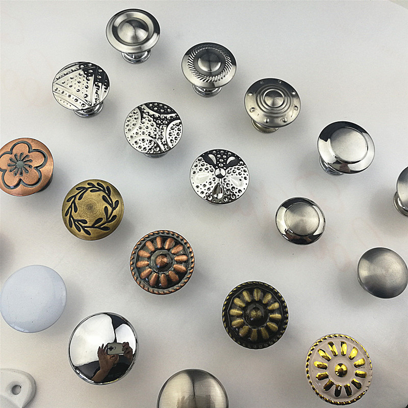 Разные стильные цветные ручки из нержавеющей стали для дверных ящиков, шкафов, Потяните ручки, мебельная фурнитура