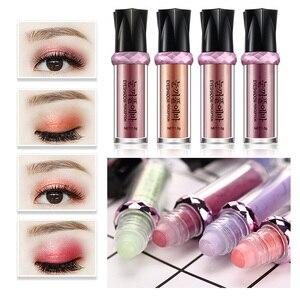 NEW 1 Pcs Makeup Eyeshadow Natural Luminous 3 Color Make Up Ball Glitter Fluorescence Eye Shadow Powder Eye Makeup Tool TSLM1