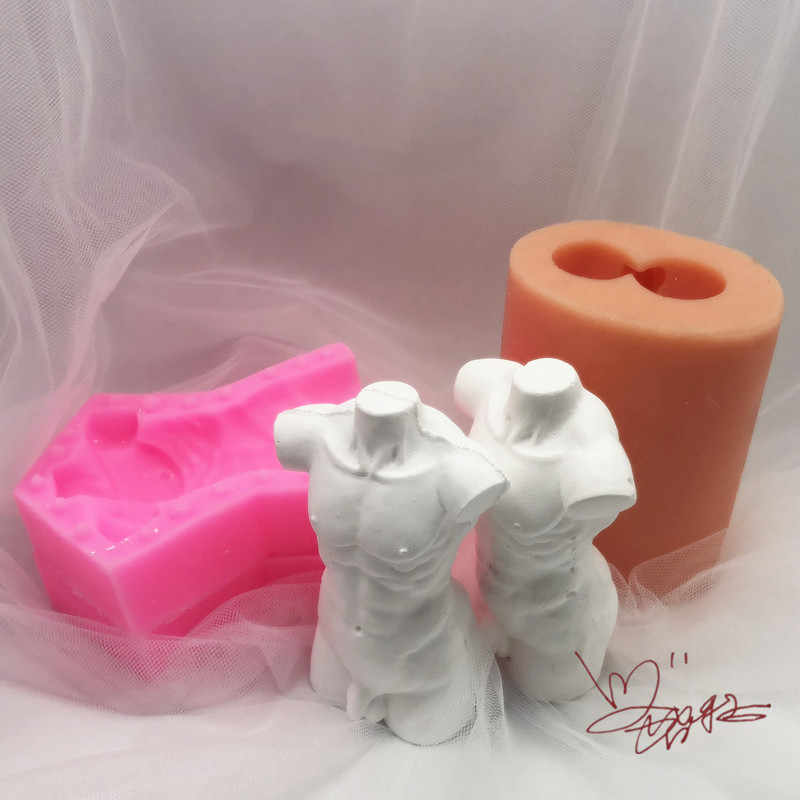 DIY Tool Gypsum Portraits Mould Candle Molds Resin Casting Mold Soap Making