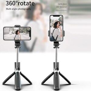 Image 4 - クール DIER 3 で 1 ワイヤレス Bluetooth Selfie スティック拡張可能なハンドヘルド一脚シャッターリモート折りたたみミニ Iphone 4 用三脚