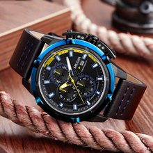 Men Quartz Sport Watch Relogio Masculino Chronograph Military Army Watches Clock Men Top Brand Luxury Creative Watch Men