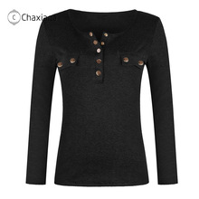 Winter Sweaters Knitwear T-Shirts Long-Sleeve Solid-Color Plus-Size Fashion Women Ladies
