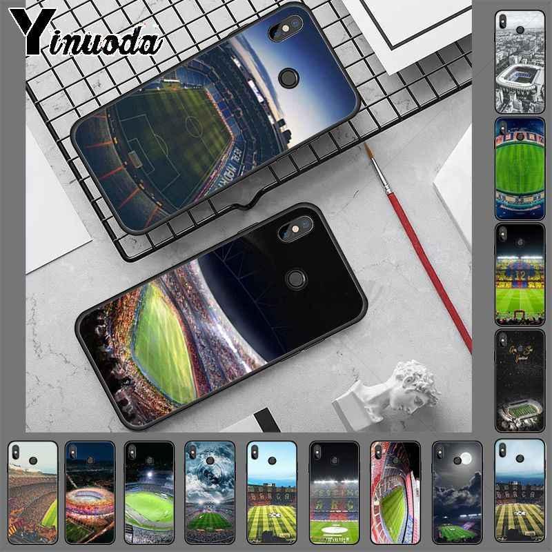 Coque redmi note8 Barcelona ev futbol stadyumu telefon kılıfı için redmi note8 pro note7 note5 note6pro 7 7A 5 5A 8 S2 kapak
