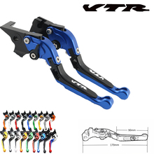 For Honda VTR1000F / FIRESTORM VTR 1000 F logo VTR 1998 1999 2000 2001 2002 2003 2004 2005 CNC motorcycle brake clutch lever for suzuki tl1000s tl1000 s with logo cnc adjustable folding expandable motorcycle brake lever 1997 1998 1999 2000 2001