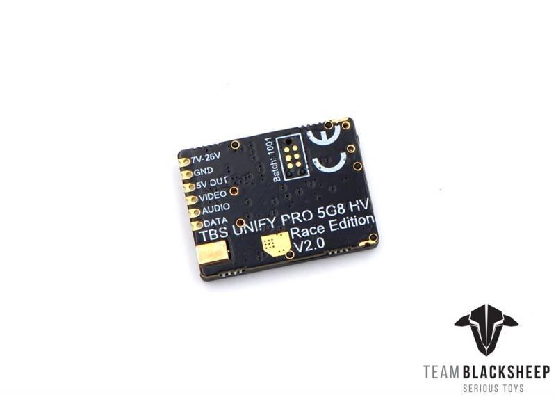 2 (mmcx) transmissor de vídeo vtx 5.8 ghz