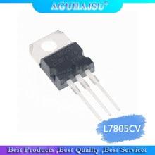 10 pçs/lote 1.5A / 5V três terminal regulador L7805CV L7805 LM7805CT LM7805 KA7805 TO220 original