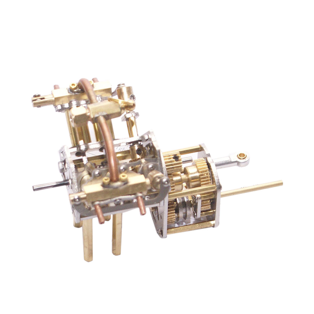 1pcs Mini V4-Steam Engine Model With Reverse Gearbox (Without Boiler) 2020 New Gifts