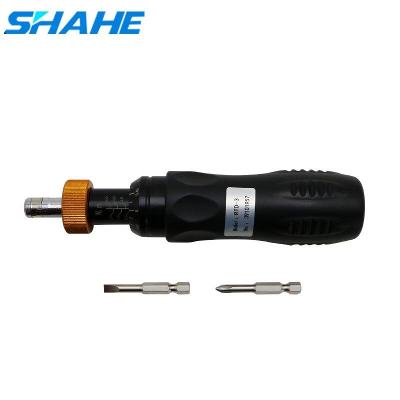 SHAHE High Precision Preset Torque Screwdriver Hex Socket  Maintenance Repair Tool Adjustable Torque Wrench Hand Tools