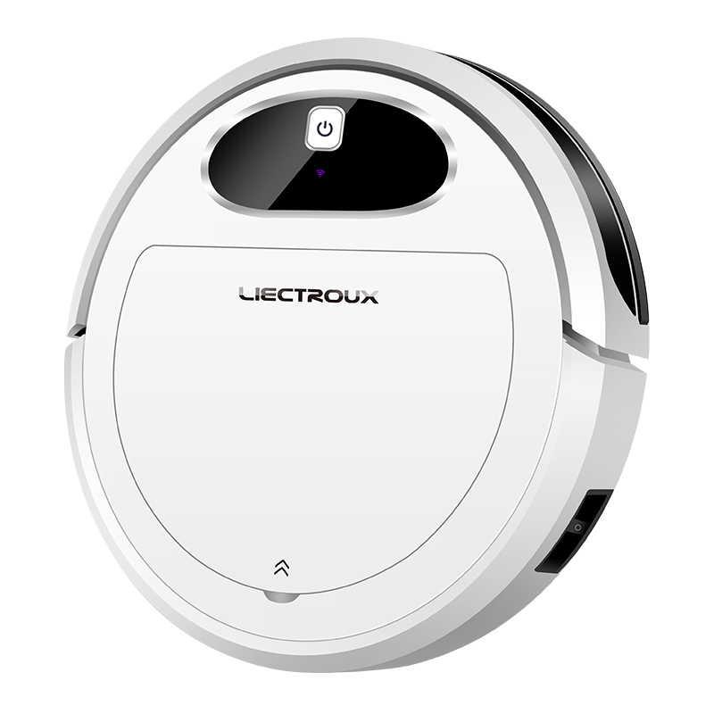 Liectroux 11S ロボット掃除機、無線 Lan App 、ジャイロ & 2D 地図ナビゲーション、電気制御 Air ポンプ水タンク、ウェットドライクリーニング