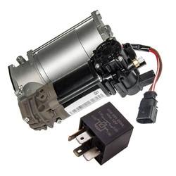 Zawieszenie pompa sprężarki powietrza przekaźnik dla Audi A8 Sedan bazowa 4 Door 2015 4G0616005C 4H0616005A 4H0616005D w Amortyzatory i rozpórki od Samochody i motocykle na