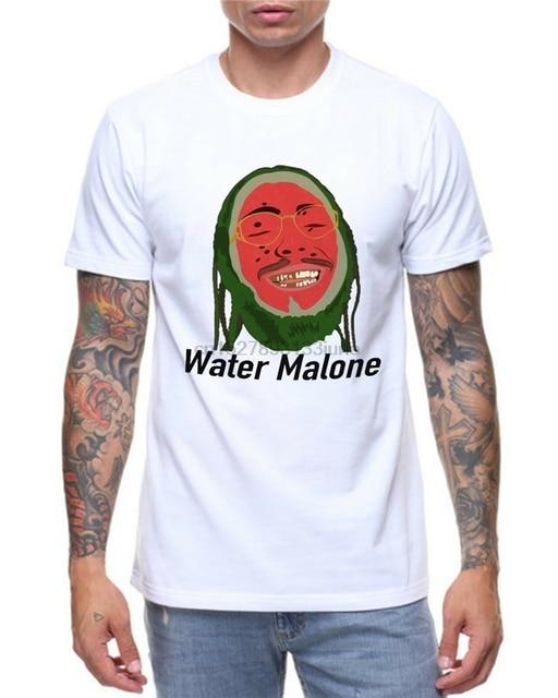 Post Malone Funny Water Malone Parody T-Shirt 1