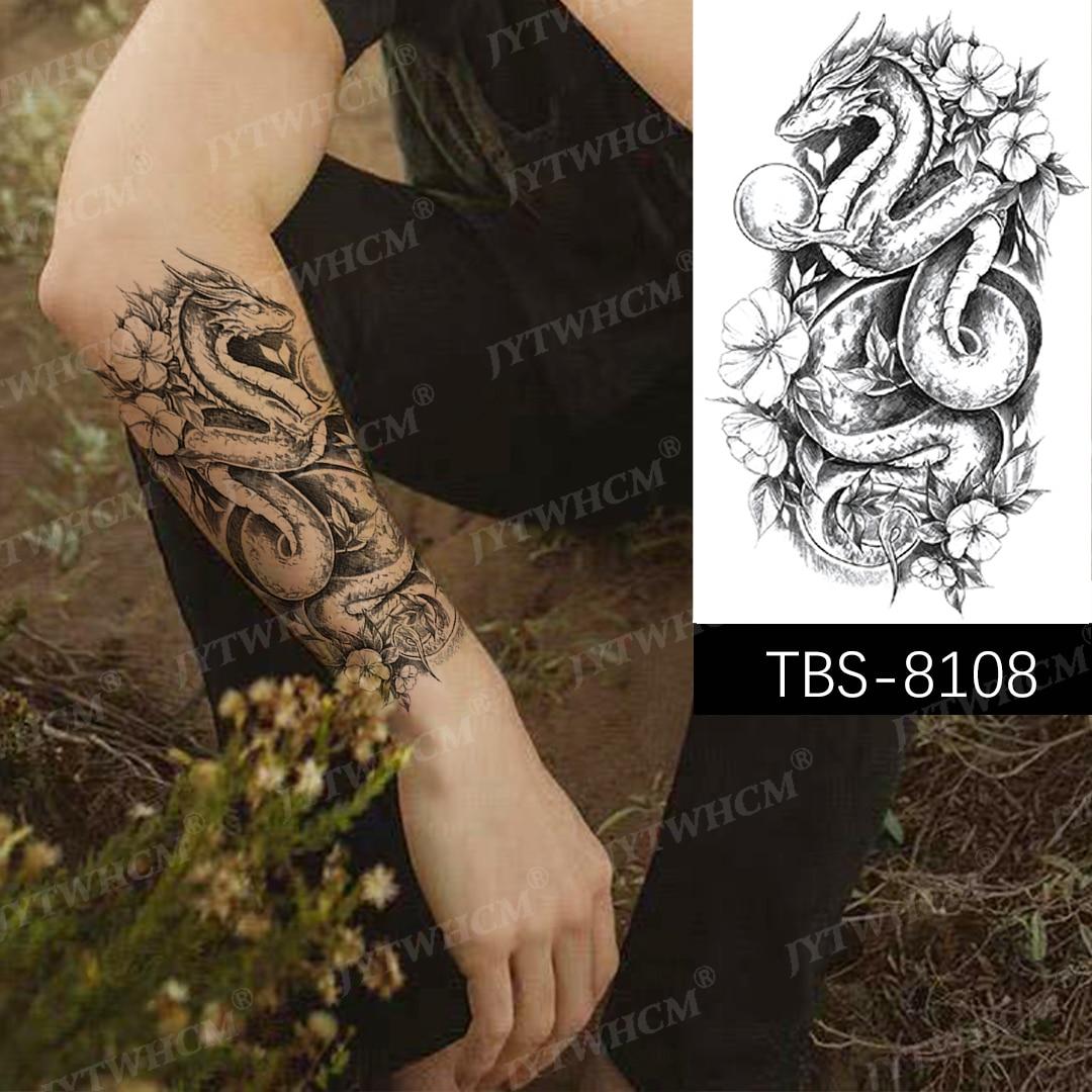 Tattoo unterarm mann wolf