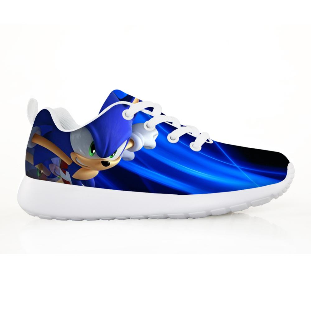 2019 New Kids Children's Shoes Sonic Sneakers For Children Boys Girl Pretty The Sonic Kids Comfortable Breathable Lace-up Shoes