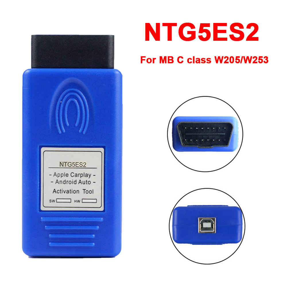 Auto Carplay NTG5ES2 For Mb W205 C-class W253 GLC For Apple /Android Car Activator Automobile Activation Tool NTG5E S2