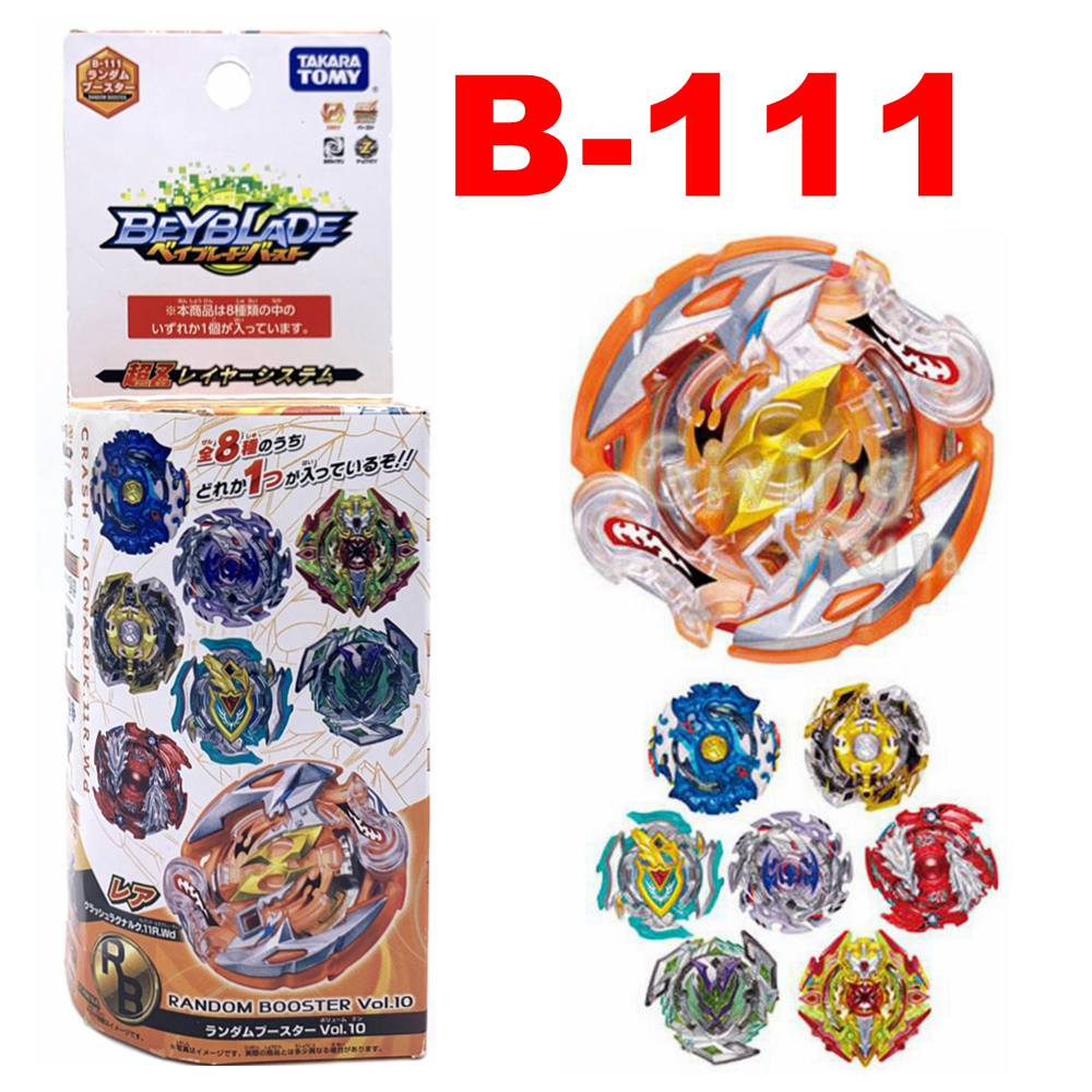 Takara Tomy Beyblade BURST B 111 Random Booster Vol. 10 (Random Model)|Spinning Tops|   - AliExpress