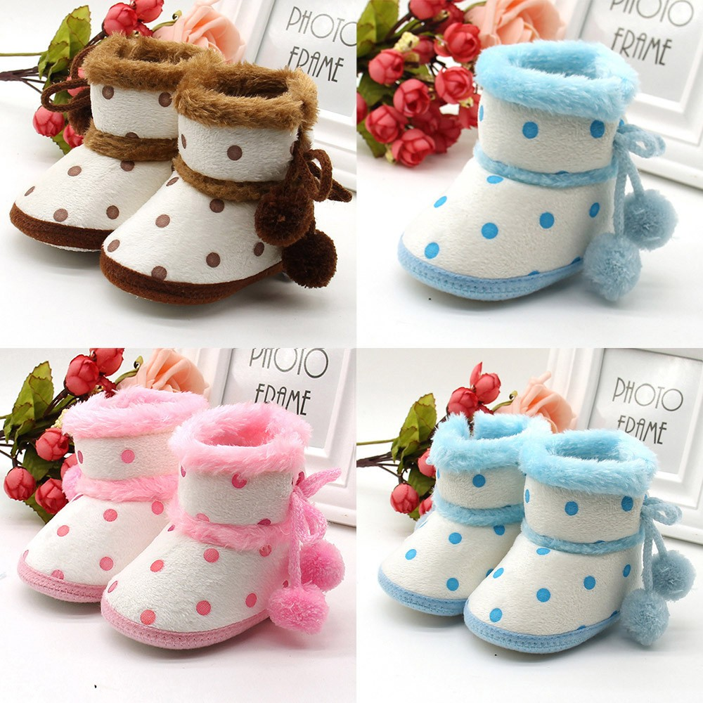 Fashion Shoes Baby Girls Boys Soft Booties Snow Boots Infant Toddler Newborn Warming Shoes high quality children Boots shoes