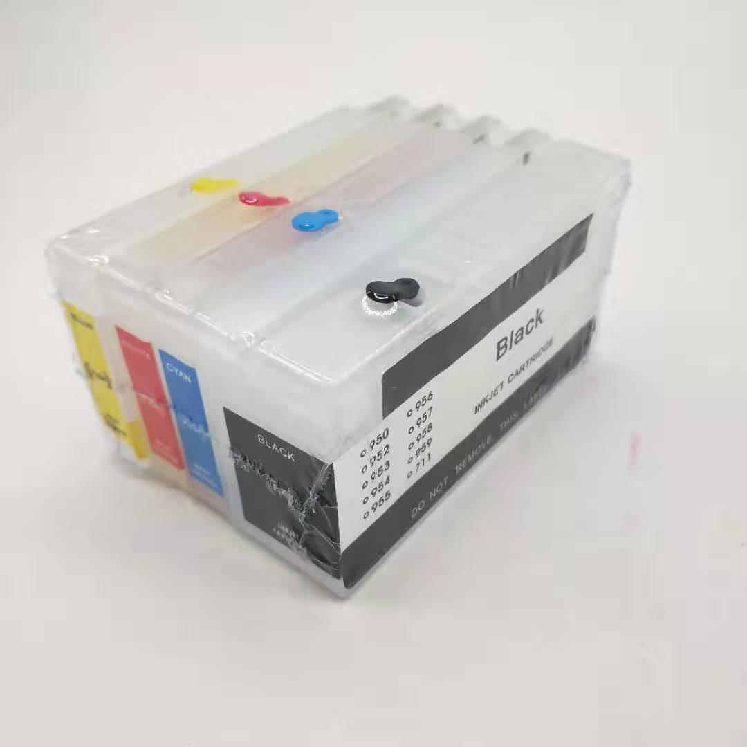 empty refillable ink cartridges 8100/8600 251dw 276dw 950 951 print head printer For HP  with Auto reset chip  Printer head printer print head printer head - title=