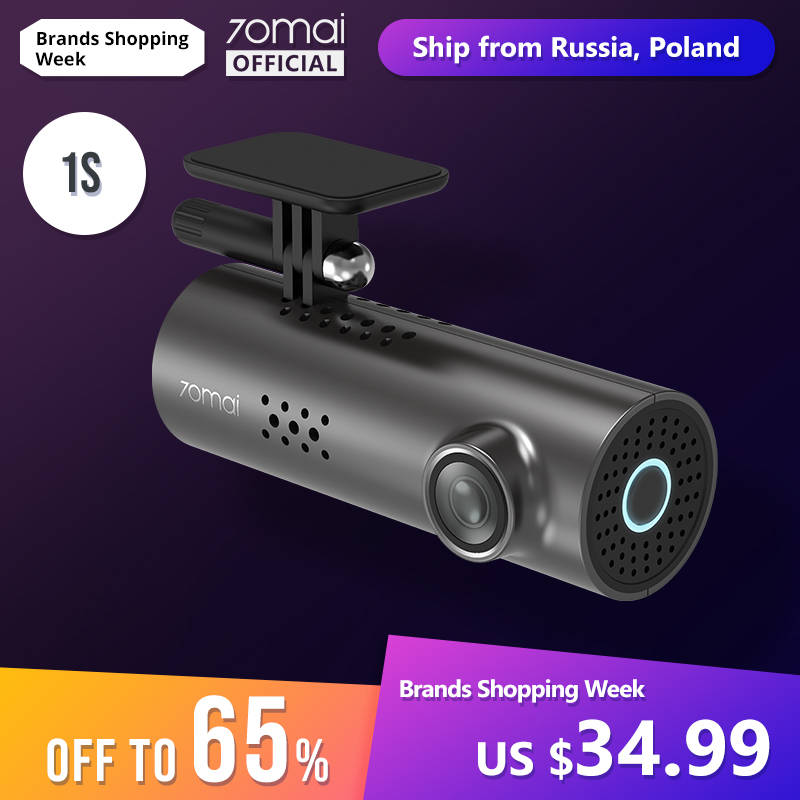 70mai Recorder Wifi DVR Car Camera Dash-Cam Voice-Control Night-Vision English 1080P