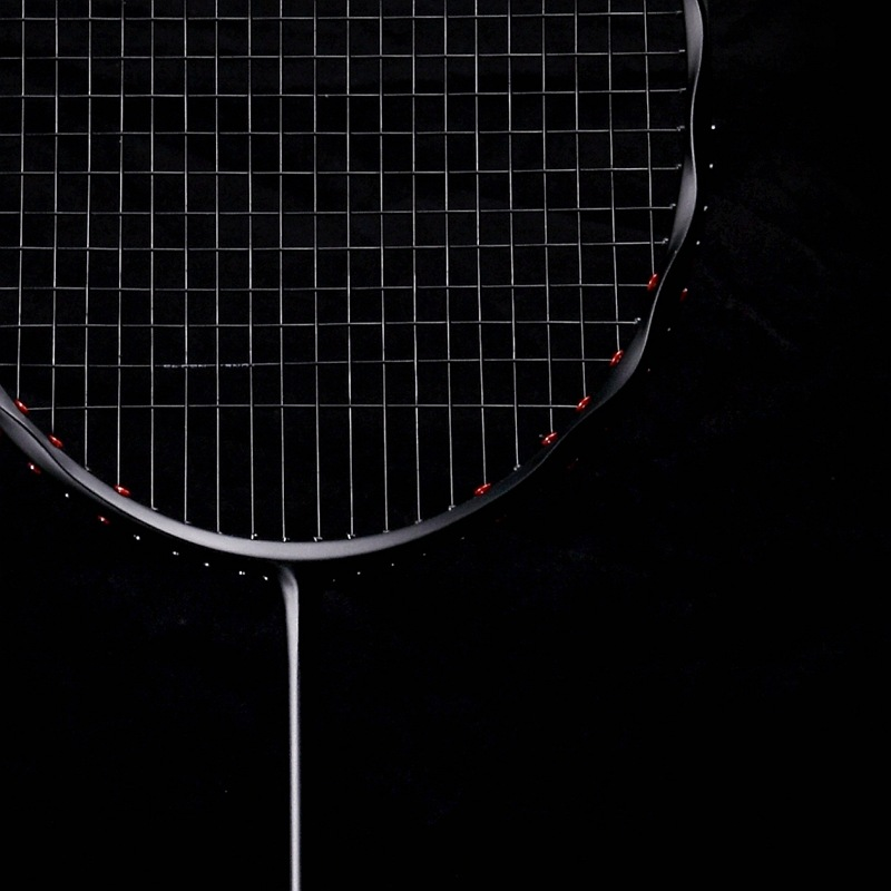 Guang Yu Challenger Linen Flower Color Badminton Racket Breaking Wind Low Drag Ultra-Light 5U Full Carbon Offensive Racket Whole