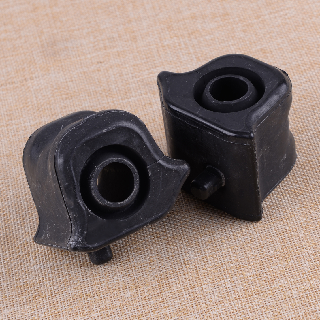 CITALL 48815-42090 48815-42100 Black 2pcs Left & Right Front Suspension Stabilizer Bar Bushing Fit For Toyota RAV4 2006-2012