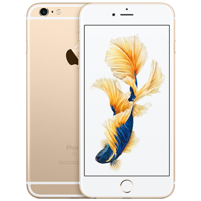 "RefurbishedApple iPhone 6S Plus 2GB RAM 16/64/128GB ROM 5.5""Dual Core 12.0MP Camera 4K Video iOS LTE fingerprint Mobile phone"