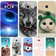 Phone Case For Samsung Galaxy J5 2016 J510 SM-J510F Cover Silicone Ultra Thin Animal Coque Cat For Case Samsung J5 2016 Cases чехол силиконовый для samsung galaxy j5 2016 sm j510f ds прозрачный