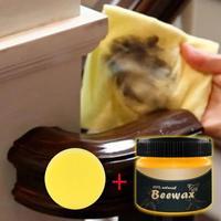 Najlepiej sprzedający się produkt przyprawa do drewna wosk pszczeli kompletne rozwiązanie pielęgnacja mebli Beeswa sprzątanie domu odnowione meble czyste w Uniwersalny środek czyszczący od Dom i ogród na