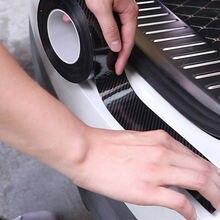 Углеродного волокна с резинковой формой полосы мягкой черной