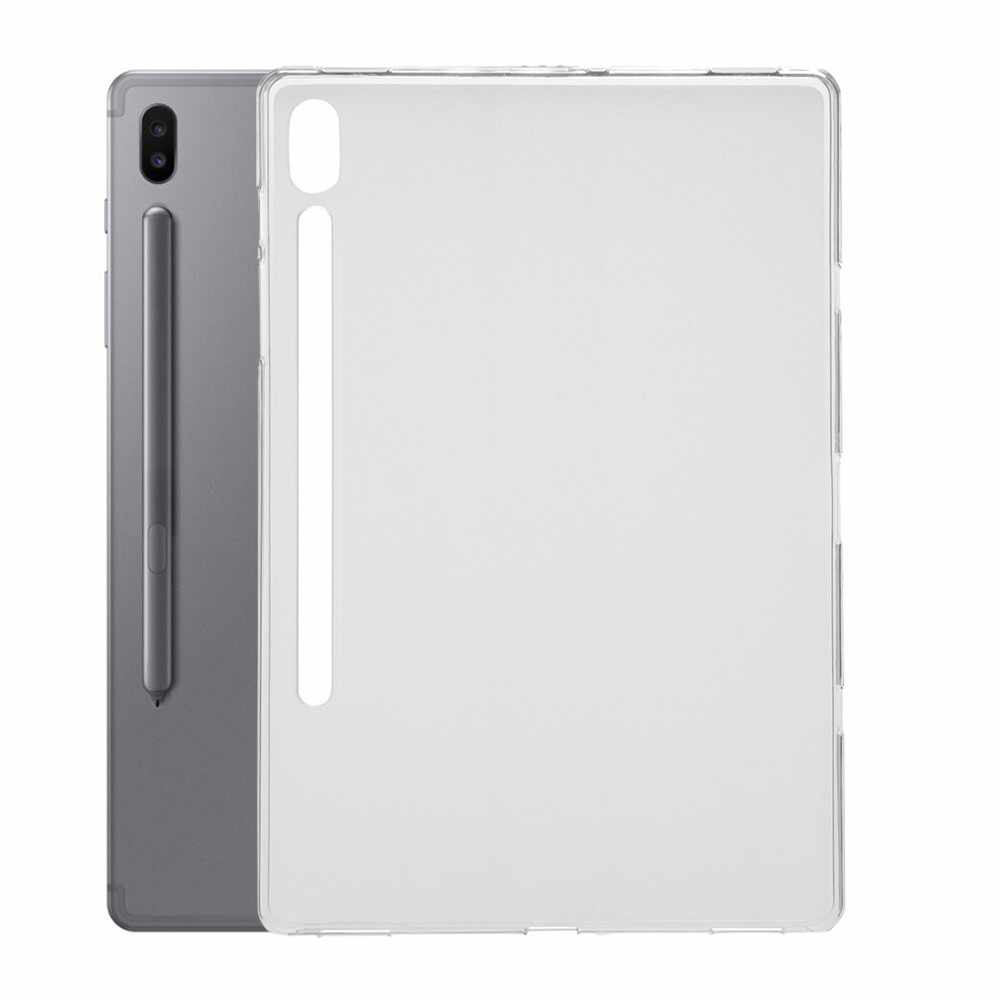 Omeshin Hoge Kwaliteit Matte Voelen Case Voor Samsung Galaxy Tab S6 10.5 In T860 T865 Soft Clear Tpu Shock-proof Case Cover