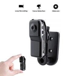 Md80 mini câmera hd detecção de movimento dv dvr gravador de vídeo de segurança cam monitor filmadoras
