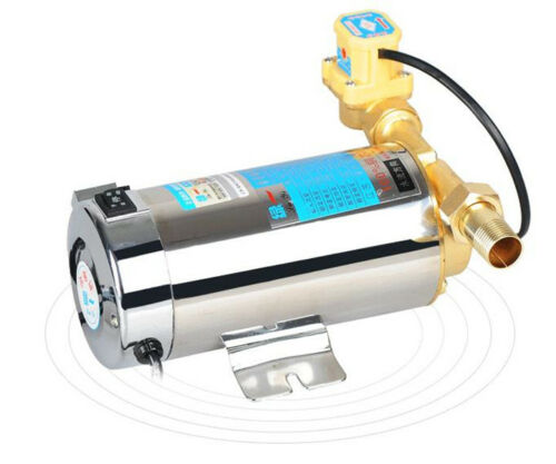 H905c169bd1614ad4b72f24872cd3170ax - Automatic Home Shower Washing Machine Water Booster Pump Stainless 220V 100W