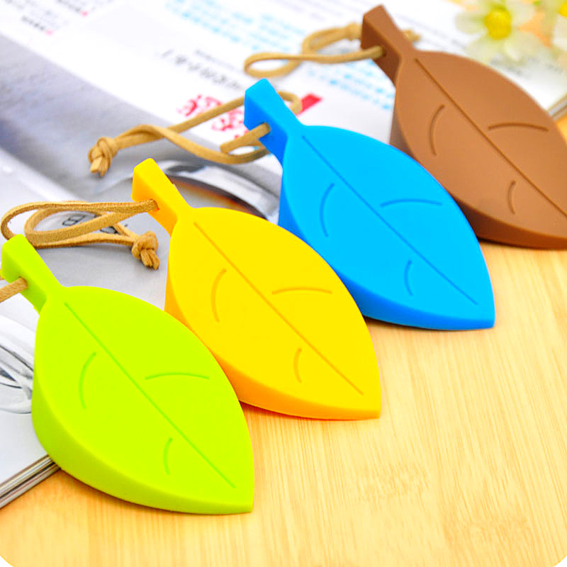 Anti-Collision and Anti Pinch Protect Children Novel Decoration Lovely Leaf Silicone Door Stop Four Colors Match Safe Door Stopper,Rubber Door Stop Wedge Security Holder Works On All Floor Types