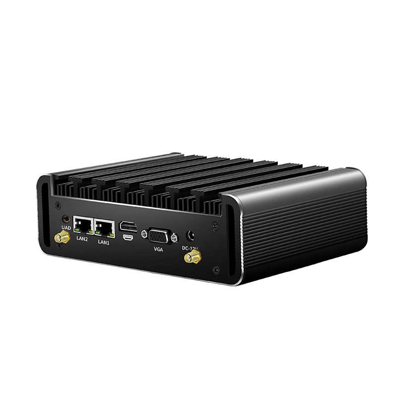 Mini pc intel core i7 5500u ddr3l msata ssd 2 * rs232 2 * gigabit ethernet wifi bluetooth 4 * usb3.0 hdmi vga windows 10 linux
