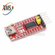 1 pces ft232rl ftdi usb para ttl módulo adaptador de série para mini porta 3.3v 5v novo