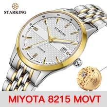 STARKING Mechanical Watch Men Japan 8215 Movt Stainless Stee