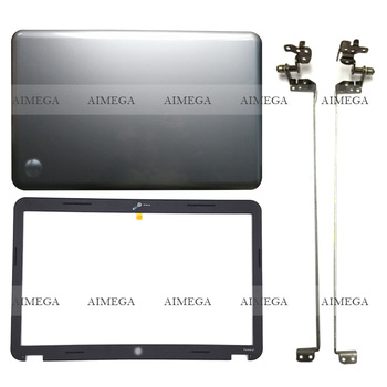 NEW For HP Pavilion 17.3  G7 G7-1000 G7-1158 G7-1257DX Laptop LCD Back Cover/Front Bezel/Hinges 646547-001 Sliver gzeele new base for hp for pavilion 17 3 inche g7 2000 g7 2030 g7 2025 g7 2226nr laptop bottom case cover 685072 001 lower shell