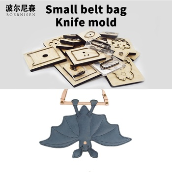 Wooden Die Cutting Diy 2020 individuality Bat ornament phone chain Dies Fille Scrapbooking Suitable For Die-cutting Machines