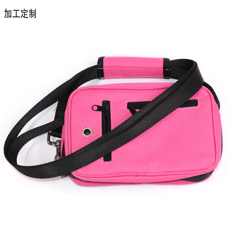 Pet Outdoor Portable Wallet Dog Traction Rope Pannier Bag Dog Training Nursing Hand Holding Rope Speed Dating Trash Pack