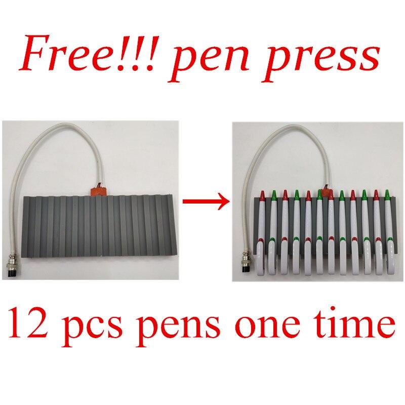 30*38 Cm 8 In 1 Combo Warmte Persmachine Sublimatie Printer 2D Thermische Overdracht Pen Doek Cap Mok plaat T shirt Drukmachine - 3