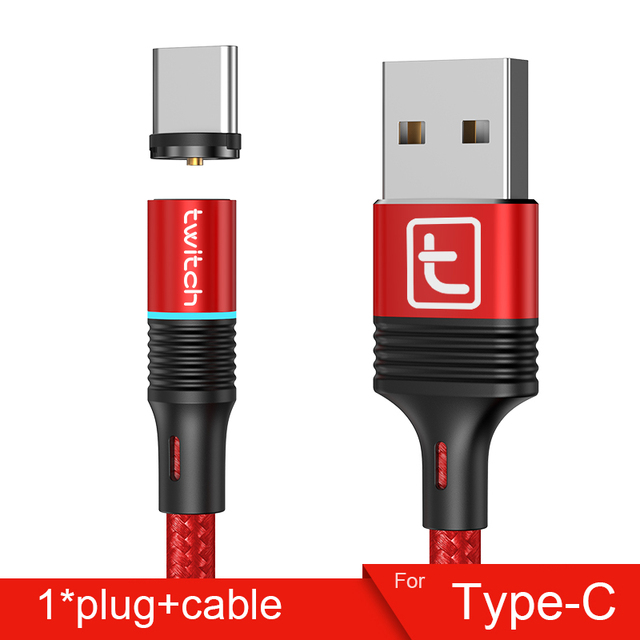 Red Type-C  Cable